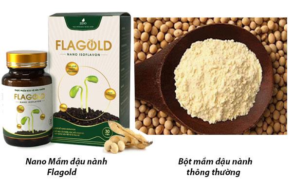 FlaGold là gì? Điểm khác biệt của FlaGold với những sản phẩm mầm đậu nành khác