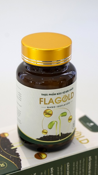 flagold bổ sung isoflavone để cân bằng estrogen, bổ sung isoflavon bằng flagold, flagold bổ sung nội tiết tố nữ, flagold bổ sung estrogen thiếu hụt