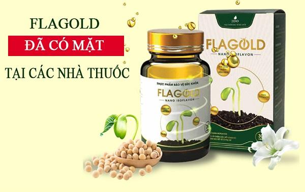 Nano mầm đậu nành FlaGold đã có mặt tại các nhà thuốc lớn trên toàn quốc