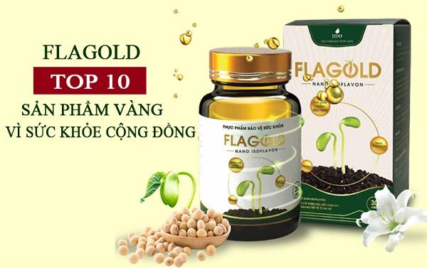 FlaGold đạt top 10 sản phẩm vàng vì sức khỏe cộng đồng