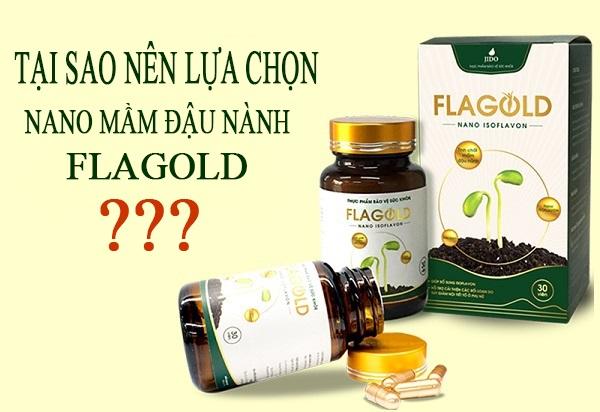 Tại sao nên sử dụng Nano mầm đậu nành FlaGold