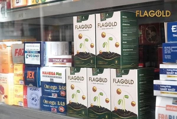 Tinh chất mầm đậu nành Flagold cải thiện sắc đẹp từ sâu bên trong