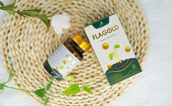 Nano mầm đậu nành Flagold là một trong những chế phẩm từ mầm đậu nành