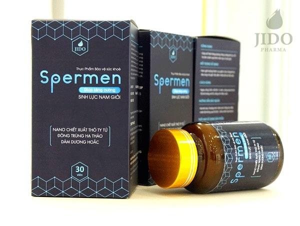 Spermen chữa yếu sinh lý nam hiệu quả