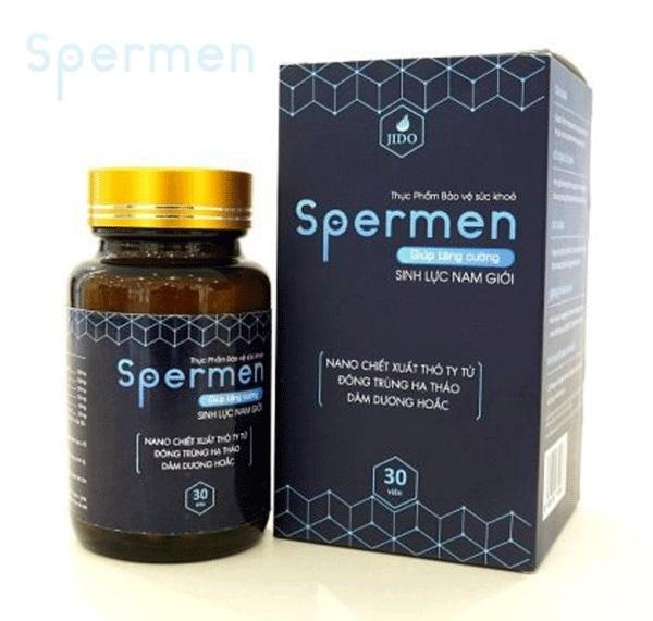 Viên uống tăng cường sinh lý Spermen có tốt không
