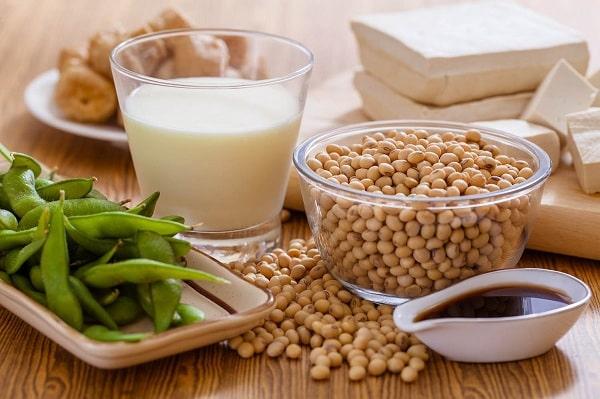 uống mầm đậu nành khi mang thai có được không