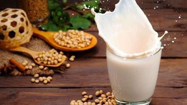 Sữa mầm đậu nành sau khi được chế biến