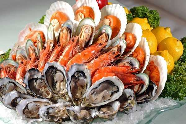 Thường xuyên bổ sung hải sản vào thực đơn ăn uống