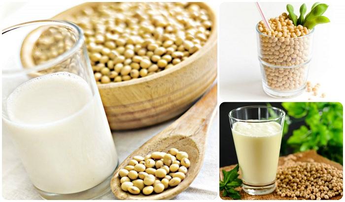 Sữa đậu nành cũng cung cấp hàm lượng estrogen tự nhiên nhưng ít hơn mầm đậu nành
