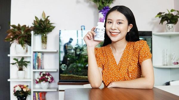 Diễn viên Hồng Anh Kichii hoàn toàn bị chinh phục bởi viên uống giảm cân Glamour La Slim