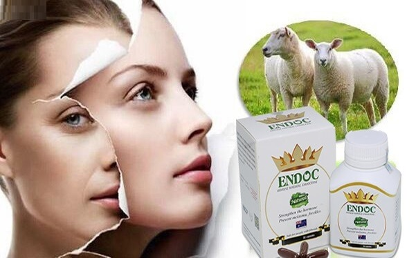 Sử dụng viên uống Endoc mỗi ngày để cải thiện các tình trạng lão hóa trên da