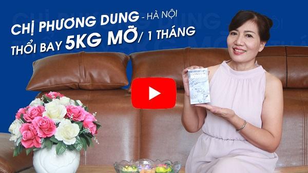 Chị Phương Dung đã thổi bay được 5kg mỡ thừa chỉ sau 1 tháng nhờ Glamour La Slim