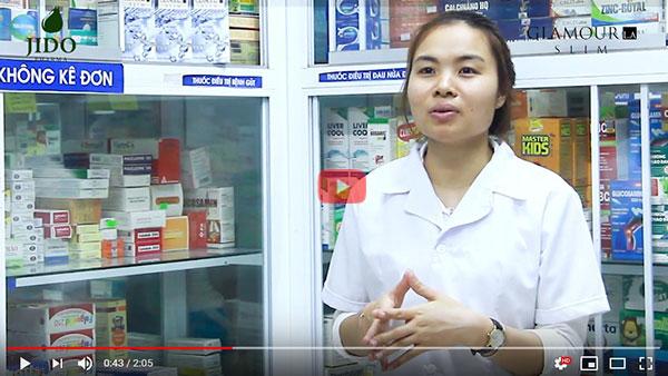 Dược sĩ nhà thuốc 24h tư vấn về sản phẩm giảm cân Glamour La Slim