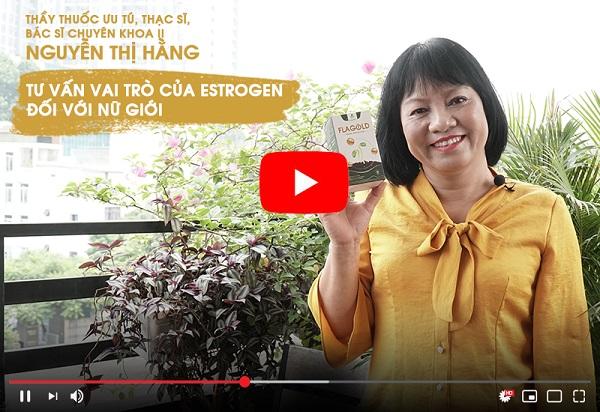 TS, BS Nguyễn Thị Hằng tư vấn về vai trò của isoflavone với sức khỏe và sắc đẹp của chị em phụ nữ