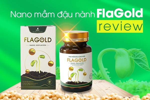 Nano mầm đậu nành FlaGold review webtretho chi tiết từ người dùng và sao Việt