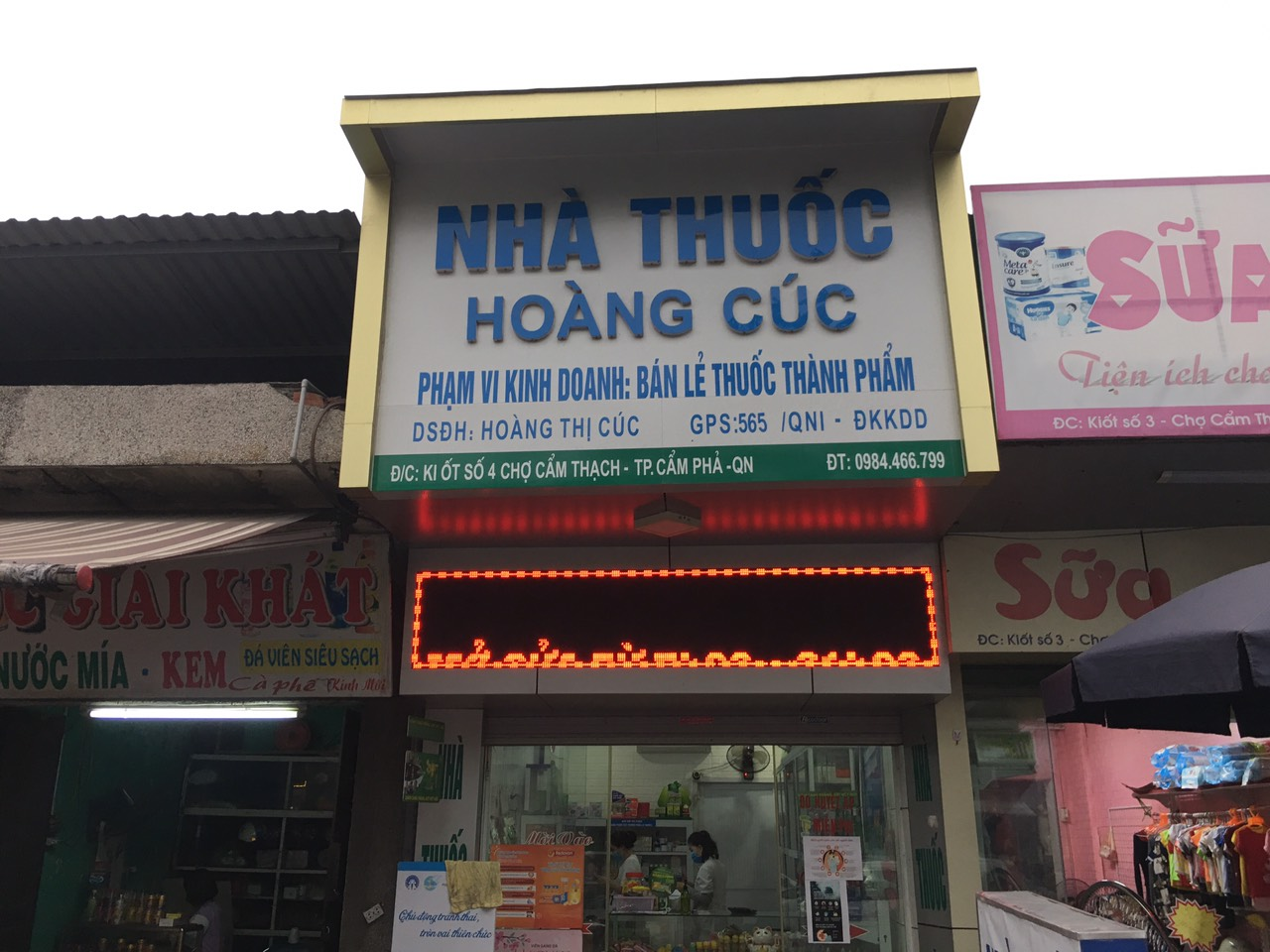 Nhà thuốc Hoàng Cúc