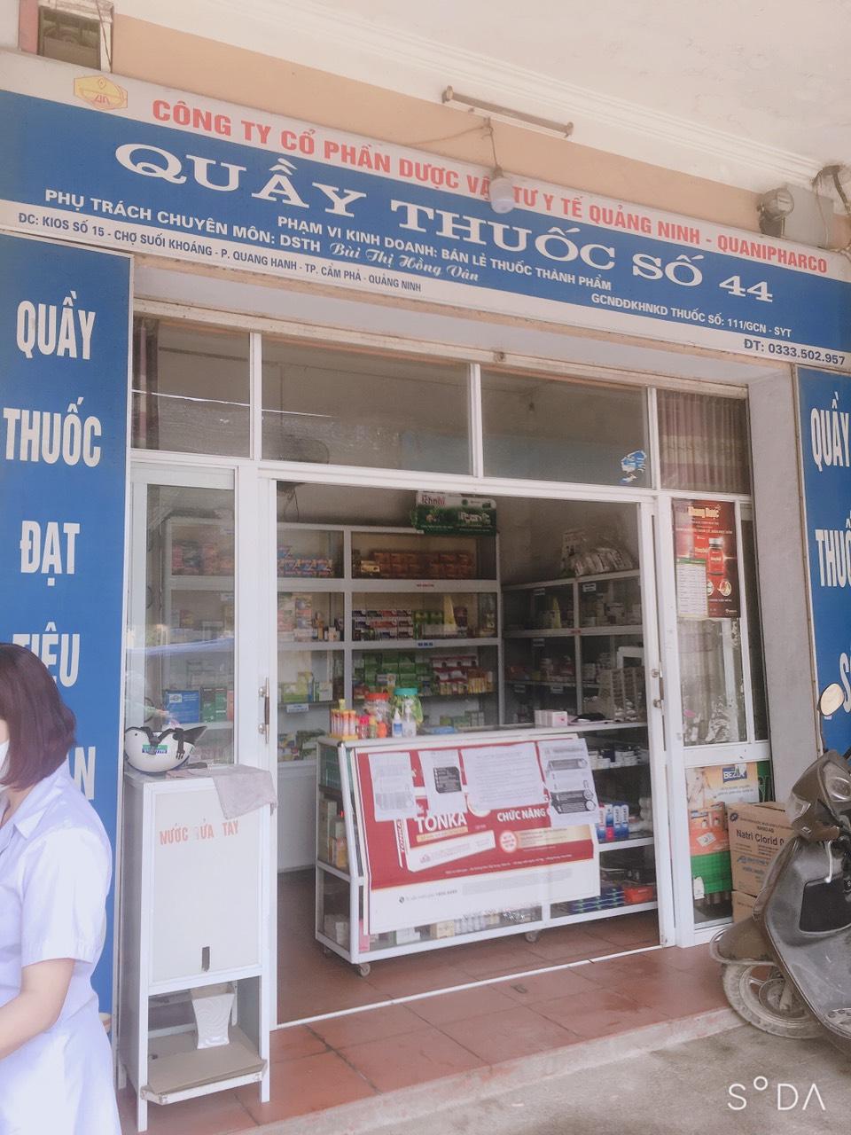 Công ty Cổ phần Dược vật tư Y tế Quảng Ninh - Quầy thuốc số 44
