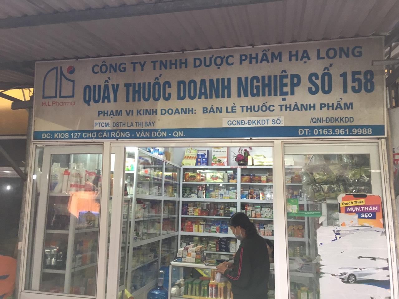 Công ty TNHH Dược phẩm Hạ Long - Quầy thuốc doanh Nghiệp số 158