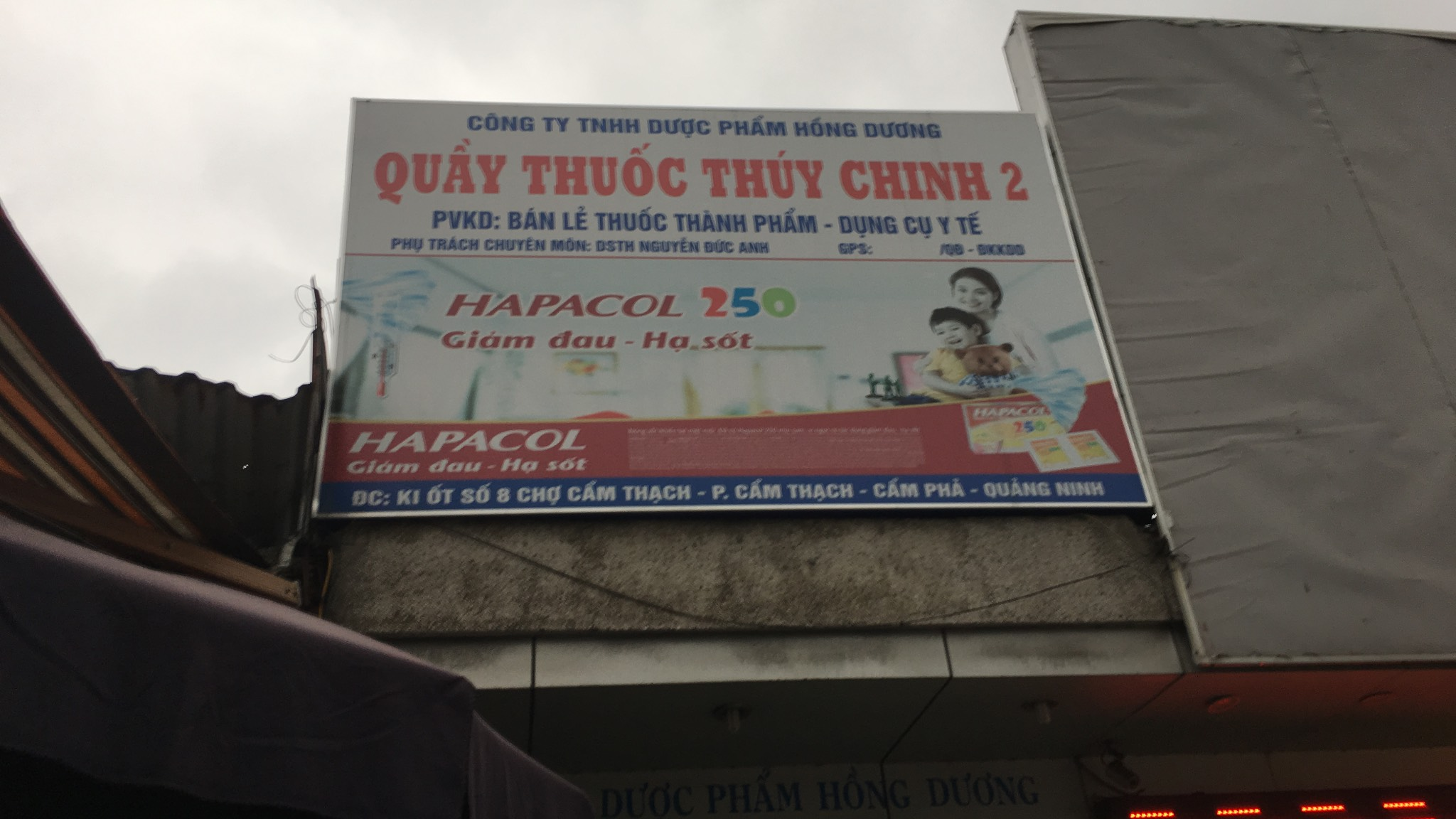Công ty TNHH Dược phẩm Hồng Dương - Quầy thuốc Thúy Chinh 2