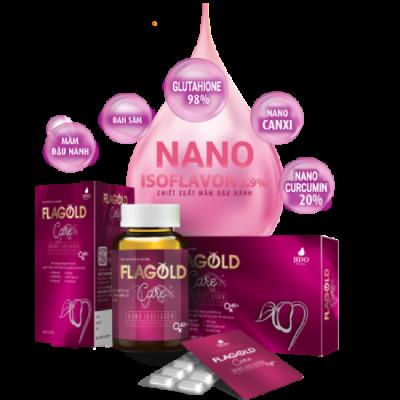 Nano mầm đậu nành Flagold Care có thành phần từ thiên nhiên, dễ hấp thụ và đem lại kết quả dài lâu