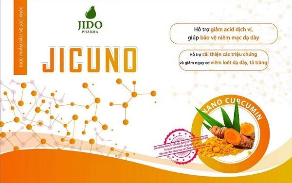 Hàm lượng Nano curcumin tự nhiên cao 20% hỗ trợ bảo vệ niêm mạc dạ dày, tá tràng