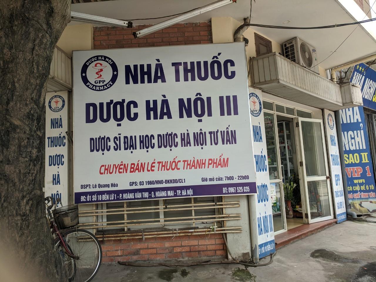 NT Dược Hà Nội 3