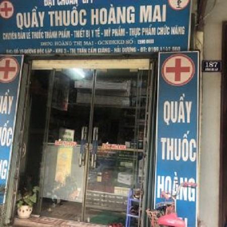 Quầy thuốc Hoàng Mai