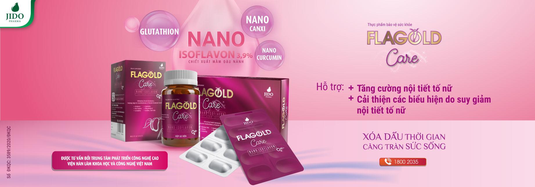 Nano Mầm Đậu Nành FlaGold Care