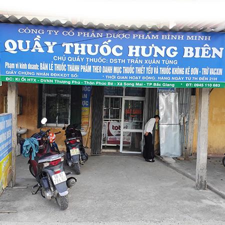 Nhà thuốc Hưng Biên