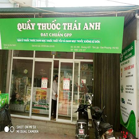 Quầy thuốc Thái Anh