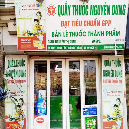 Quầy thuốc Nguyên Dung