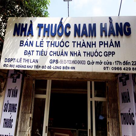 Nhà thuốc Nam Hằng