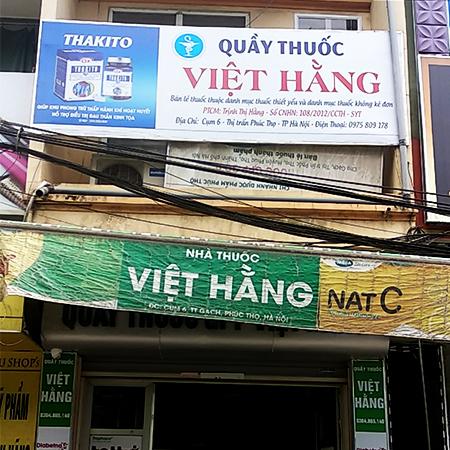 Nhà thuốc Việt Hằng