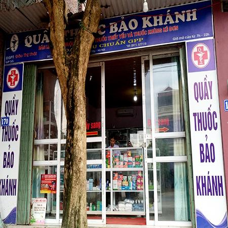 Quầy thuốc Bảo Khánh