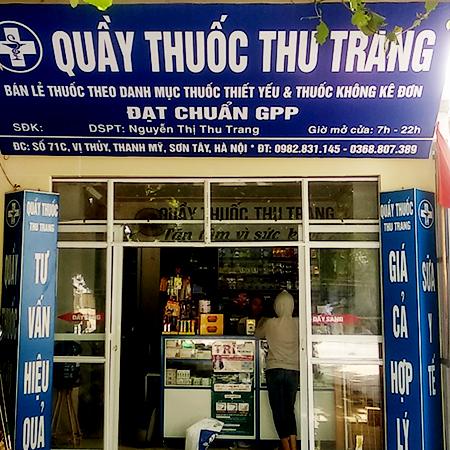 Quầy thuốc Thu Trang