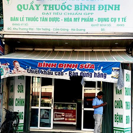 Quầy thuốc Bình Định