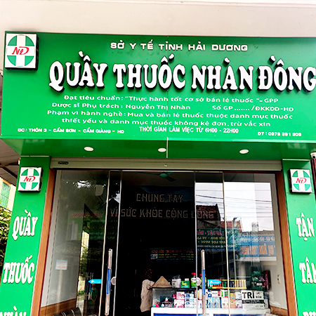 Quầy thuốc Nhàn Đồng
