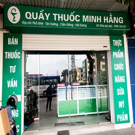 Quầy thuốc Minh Hằng