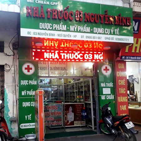 Nhà thuốc 03 Nguyễn Bình
