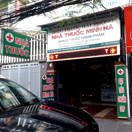 Nhà thuốc Minh Hà
