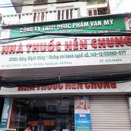 Nhà thuốc Nền Chung