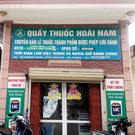 Quầy thuốc Hoài Nam