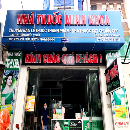 Nhà thuốc Minh Khoa