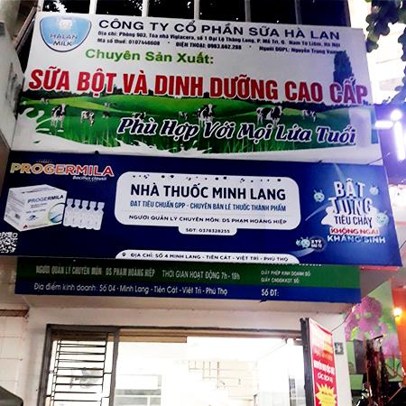 Nhà thuốc Minh Lang