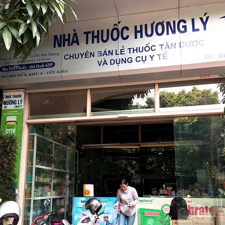 Nhà thuốc Hương Ly