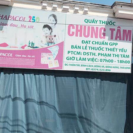 Quầy thuốc Chung Tâm