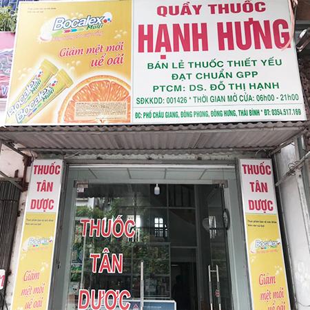 Quầy thuốc Hạnh Hưng