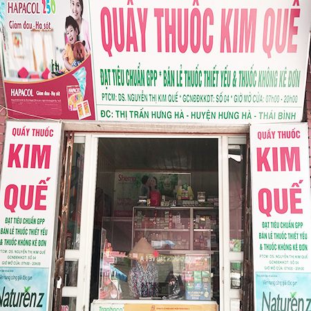 Quầy thuốc Kim Quế
