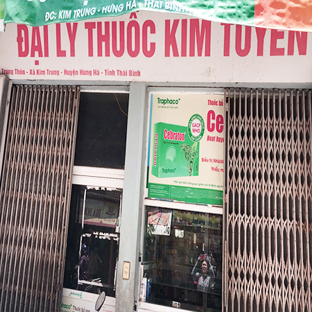 Quầy thuốc Kim Tuyến