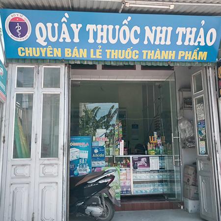 Quầy thuốc Nhi Thảo